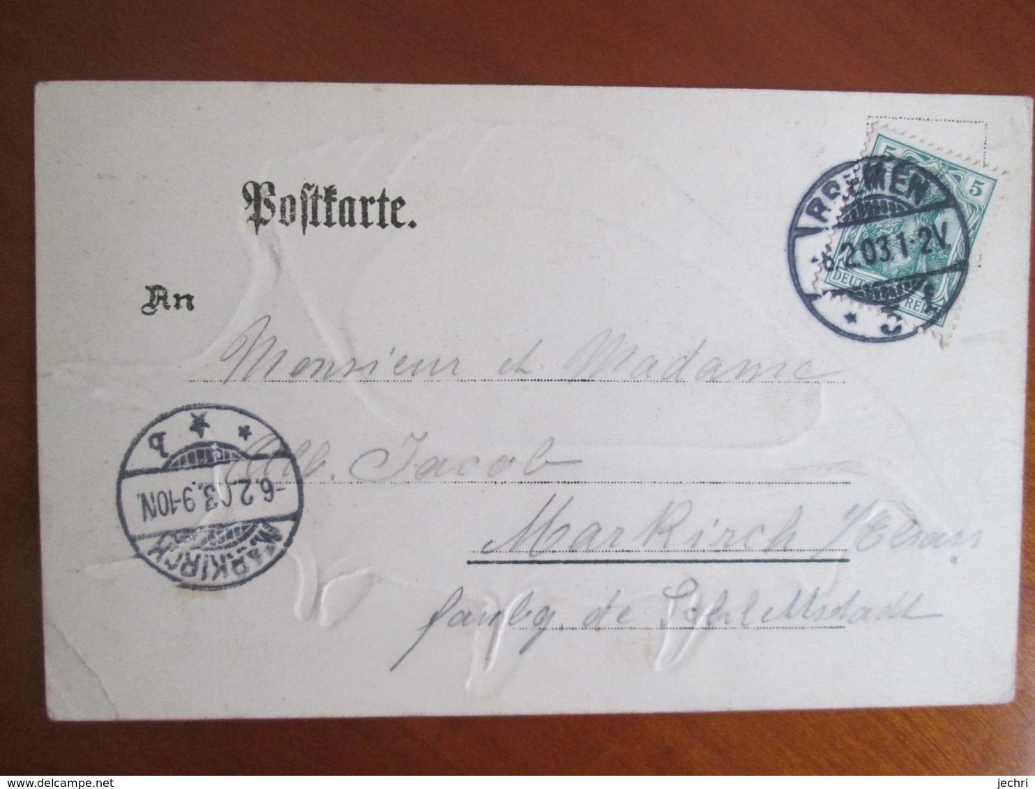 Gruss Aus Wilhemshaven . Coquillage - Wilhelmshaven