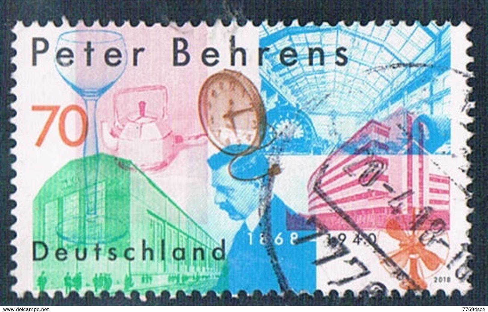 2018  150. Geburtstag Von Peter Behrens - [7] Federal Republic
