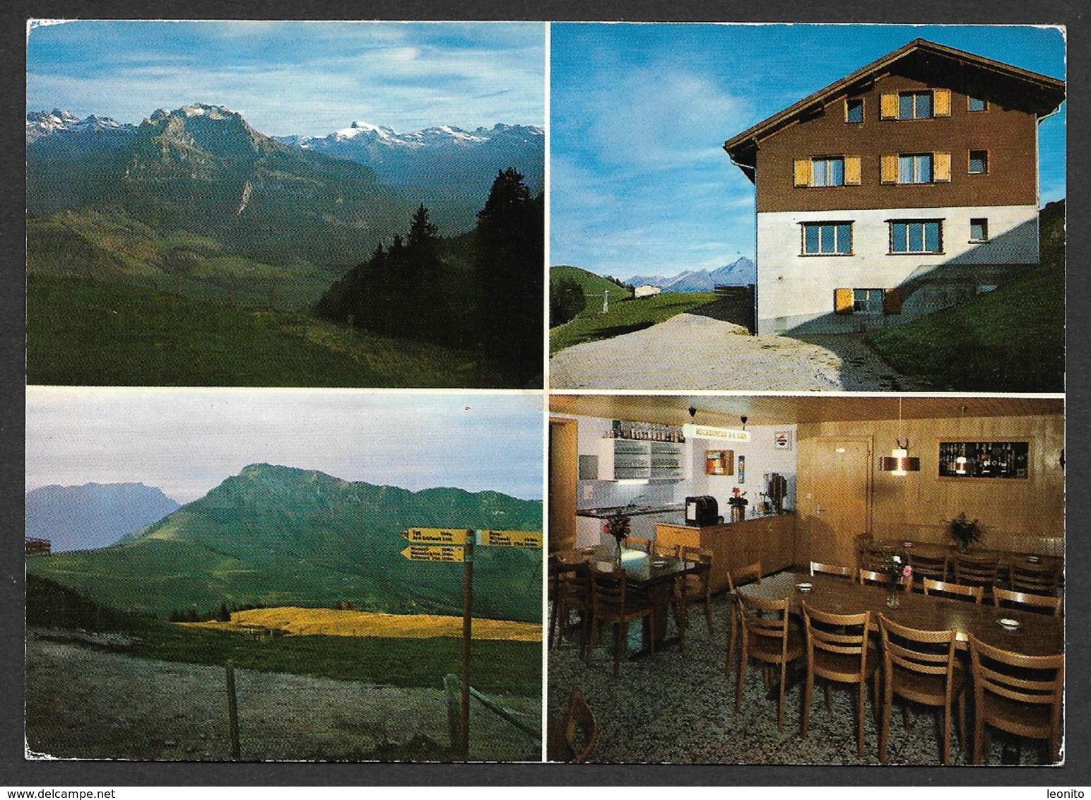 WIESENBERG NW Berggasthaus GUMMENALP Dallenwil - NW Nidwald