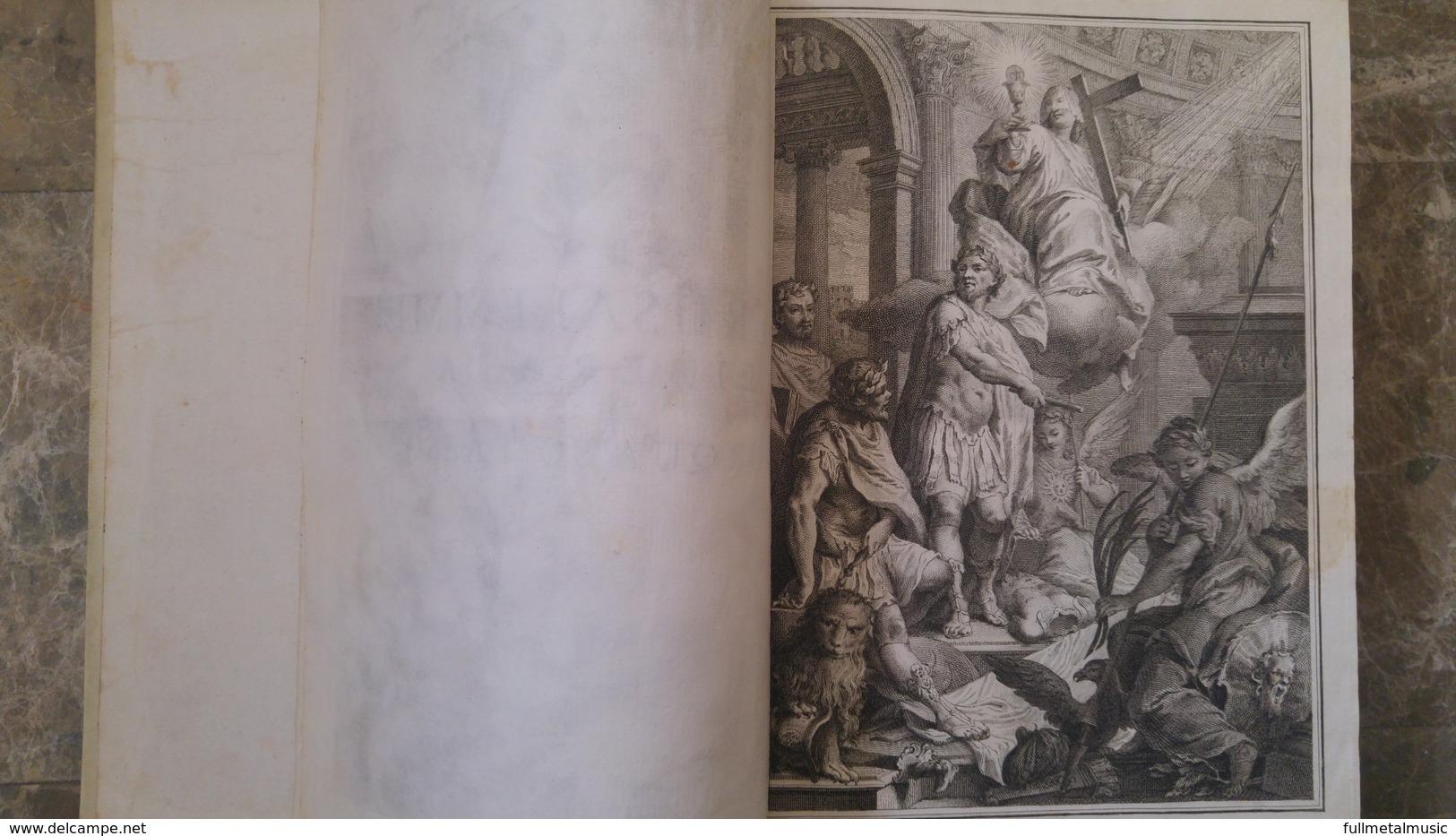 Il Goffredo Ovvero La Gerusalemme Liberata,1760 - 2 Volumi Illustrazioni In Rame - Libri Antichi