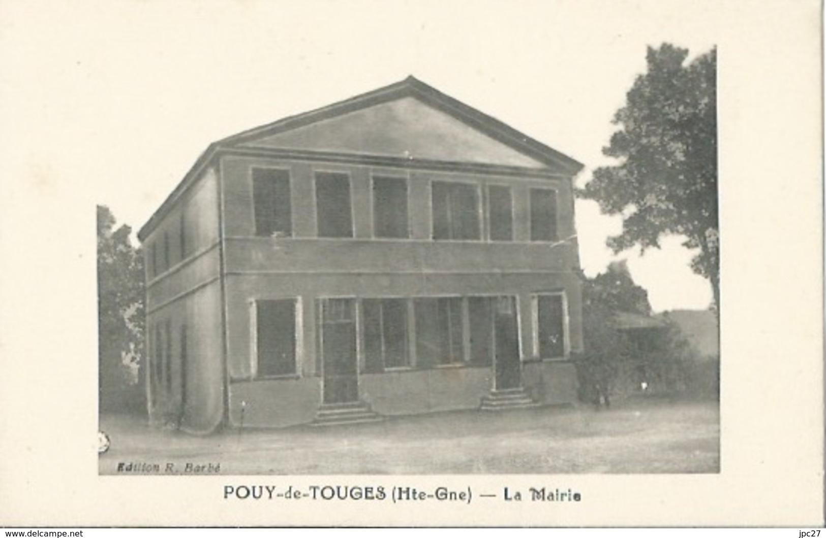 31 CPA POUY DE TOUGES - La Mairie - France