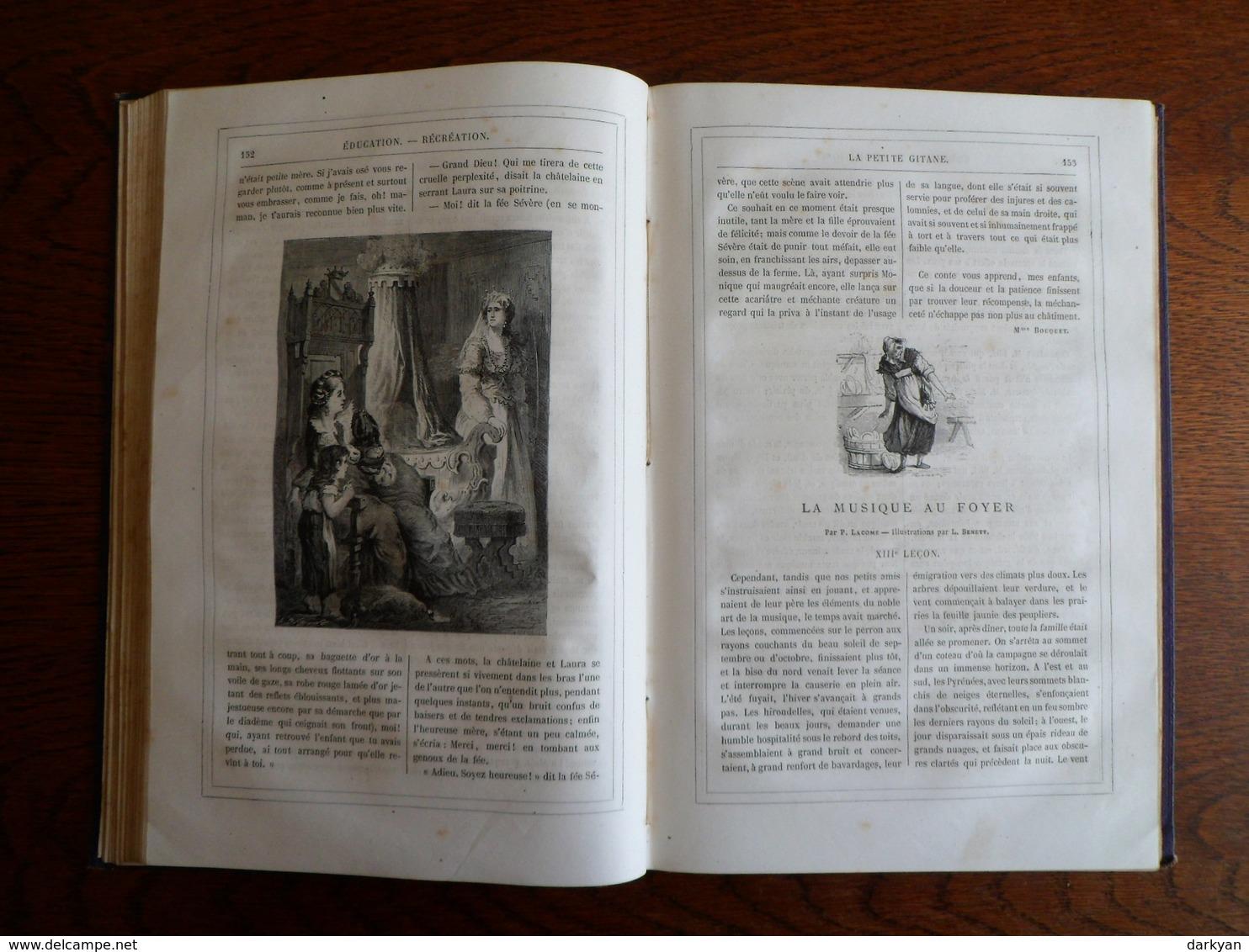 Jules Verne, Stahl - Magasin D'éducation Et De Récréation Volume XIII - Hetzel 1870 édition Luxe. - 1801-1900