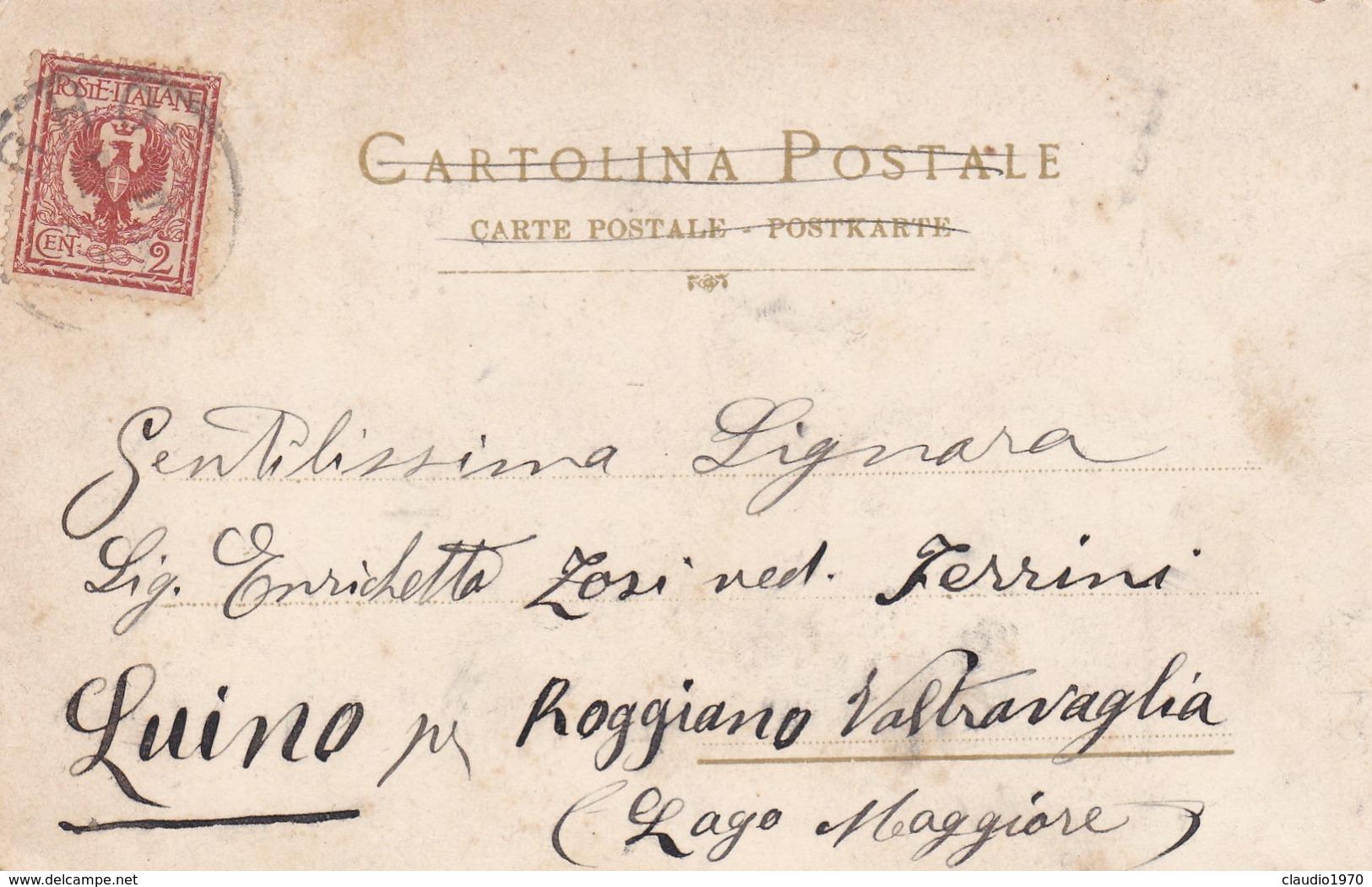 CARTOLINA - POSTCARD - RHO - INTERNO DEL SANTUARIO ALTARE MAGGIORE - ARCHITETTO MORETTI - Rho