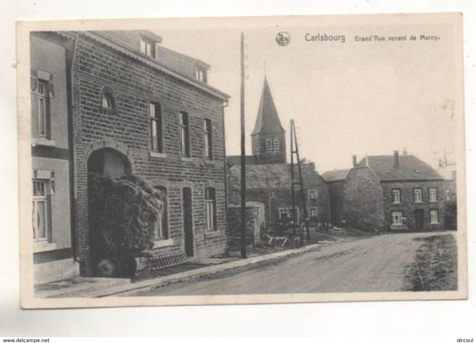 38098 -  Carlsbourg    Grand  Rue Venant De Merny - Paliseul
