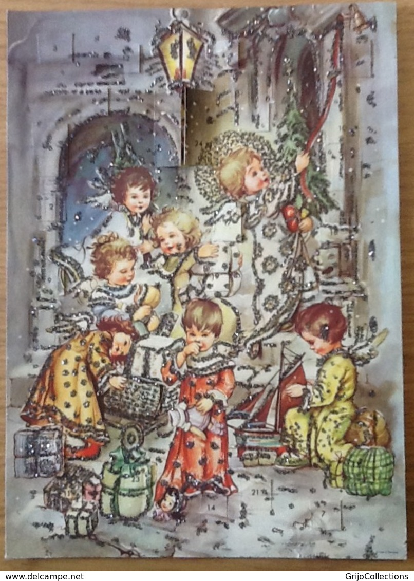 Calendrier De L'Avent. Vintage. Germany. Deutschland. - Autres