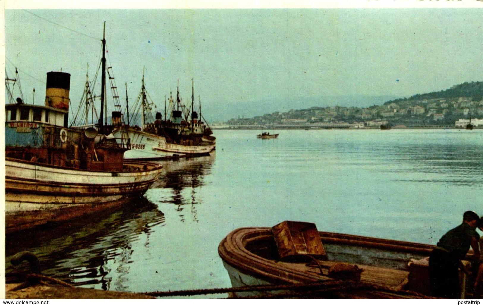 VIGO  DETAILLE DEL PUERTO    GALICIA   ESPAÑA - La Coruña