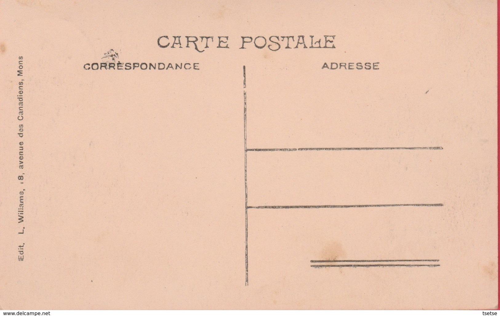 Casteau - Vue Prise De La Roquette , Près Du Moulin ( Voir Verso ) - Soignies