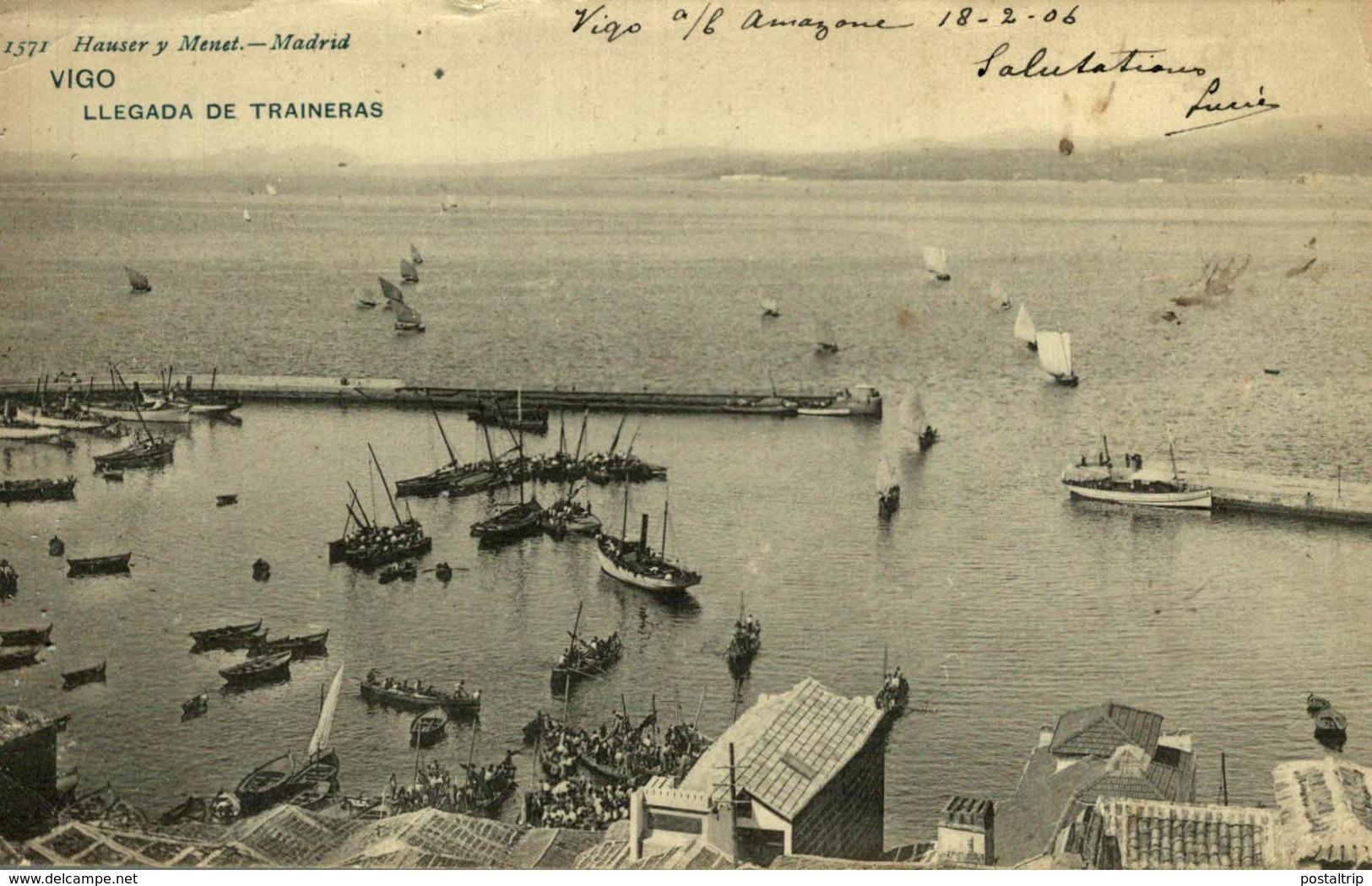 VIGO LLEGADA DE TRAINERAS - La Coruña