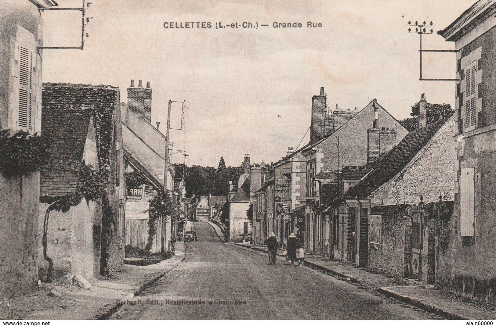 41 - CELLETTES (L-et-Ch.) - Grande Rue. - France