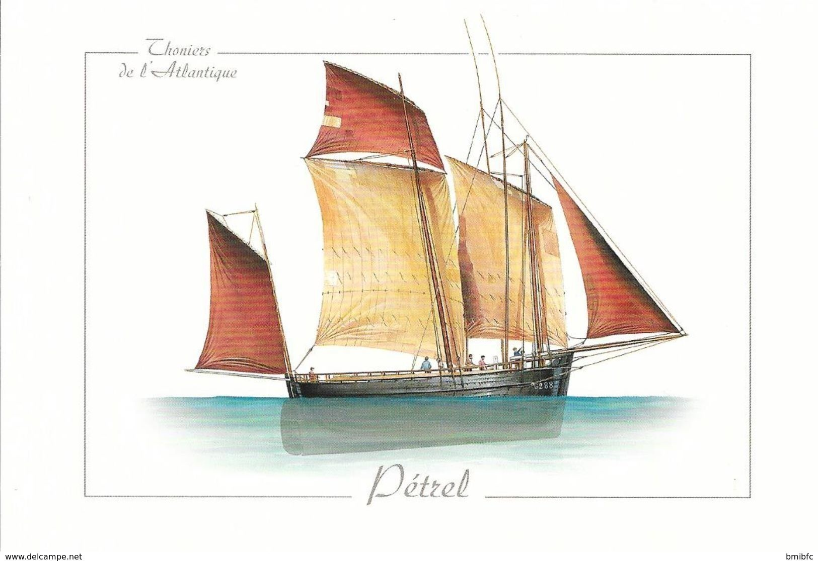******* Thoniers De L'Atlantique - Pétrel - Visvangst