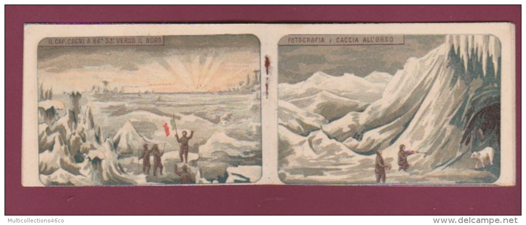 130518 - EXPEDITION POLAIRE Explorateur ABRUZZI GUERINI CAGNI CAVALLI étoile Polaire STELLA POLARE Calendrier 1901 - Arctic Expeditions