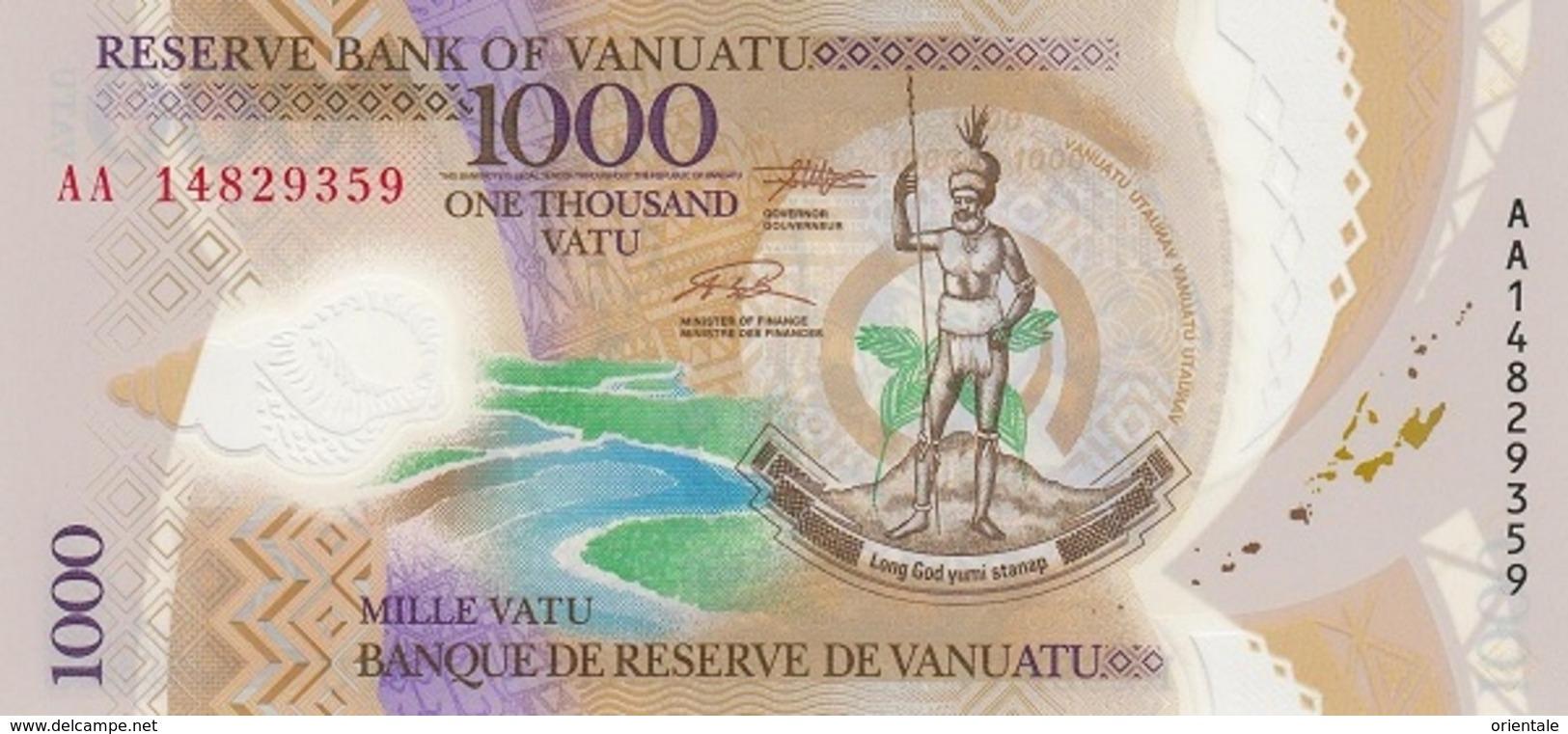 VANUATU P. 13 1000 V 2014 UNC - Vanuatu