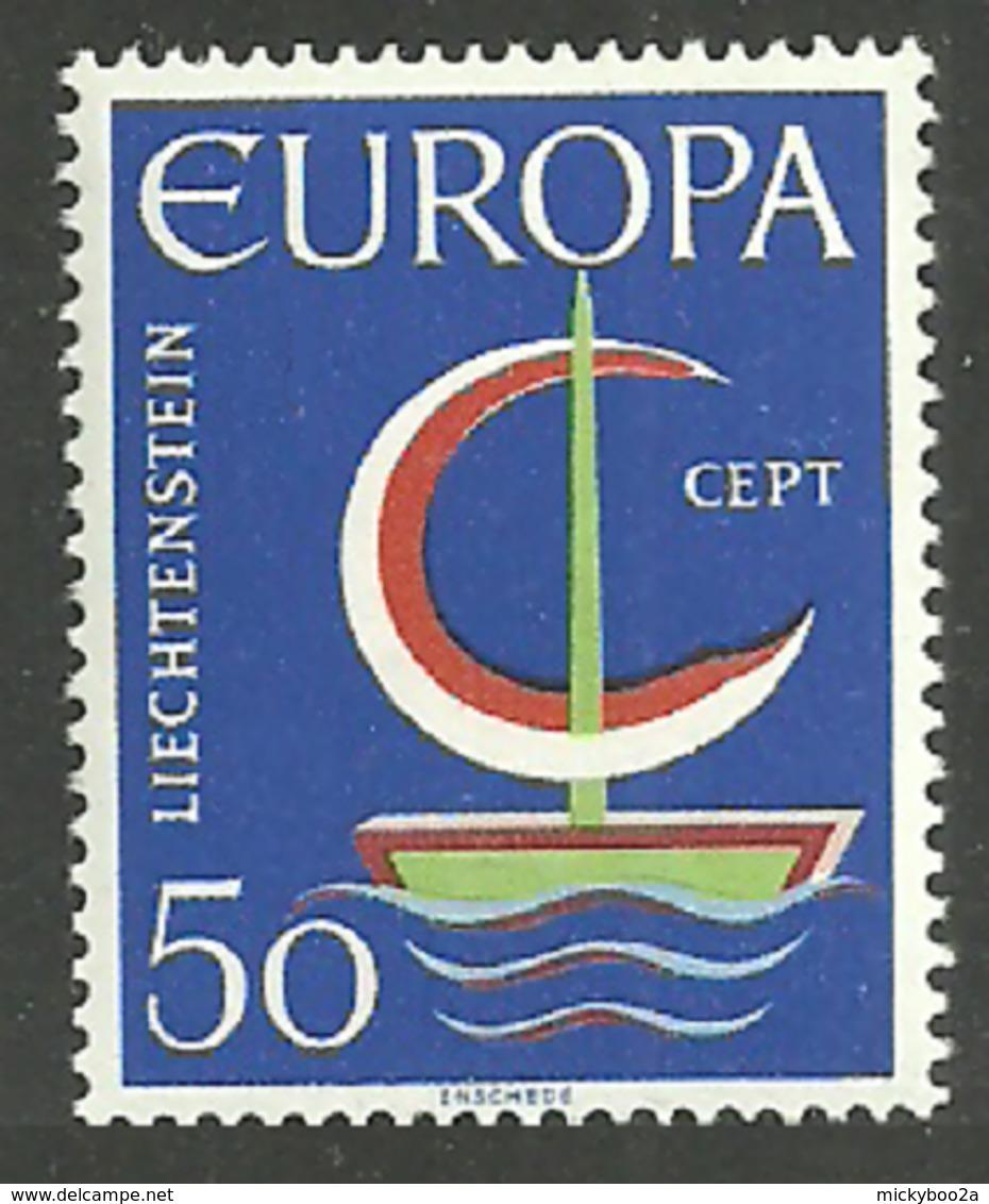 LIECHTENSTEIN & LUXEMBOURG 1966 EUROPA SHIP OMNIBUS SET MNH - Liechtenstein