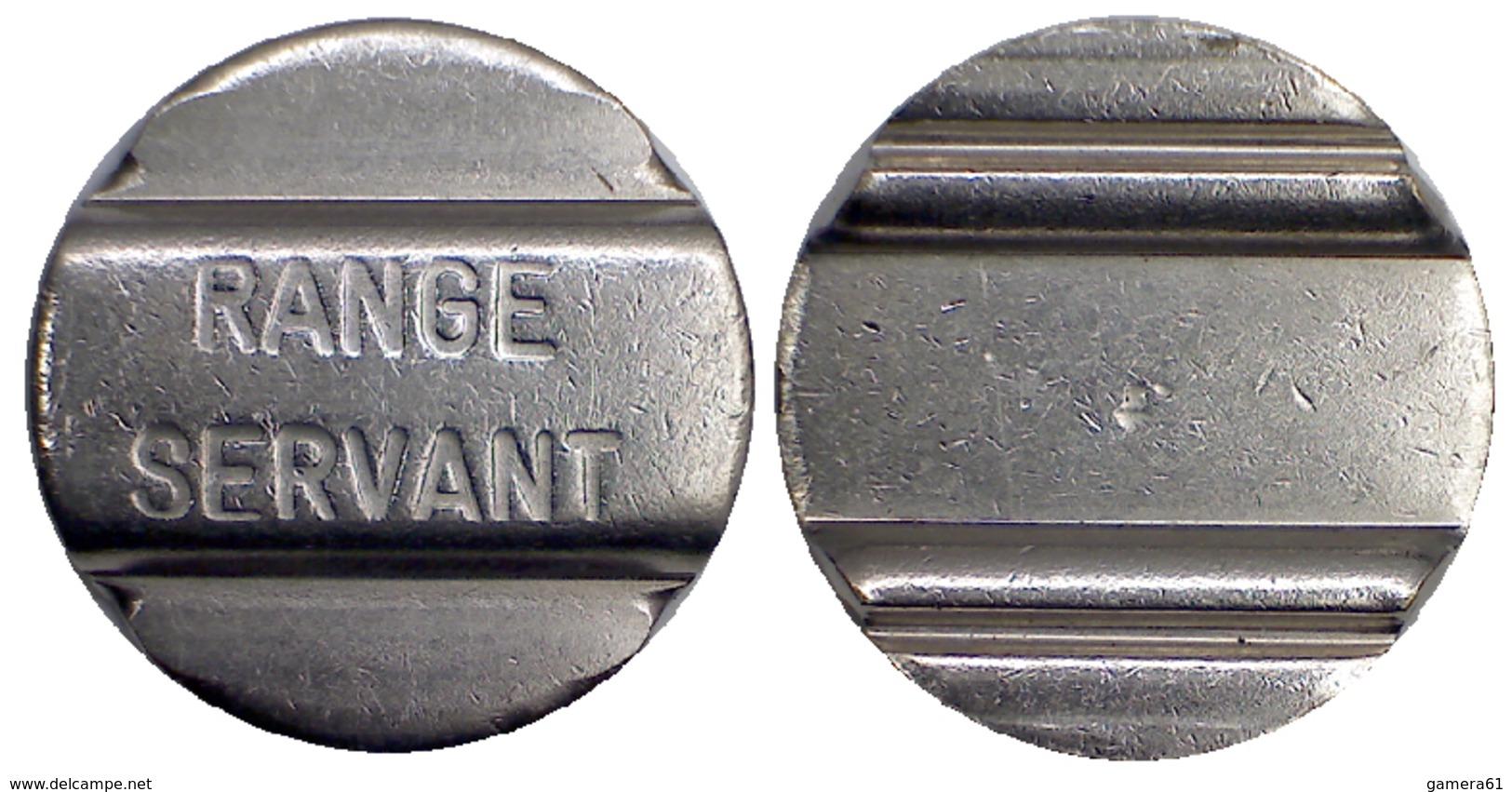 04329 GETTONE JETON TOKEN SWEDEN SPORT EQUIPMENT RANGE SERVANT - Jetons En Medailles