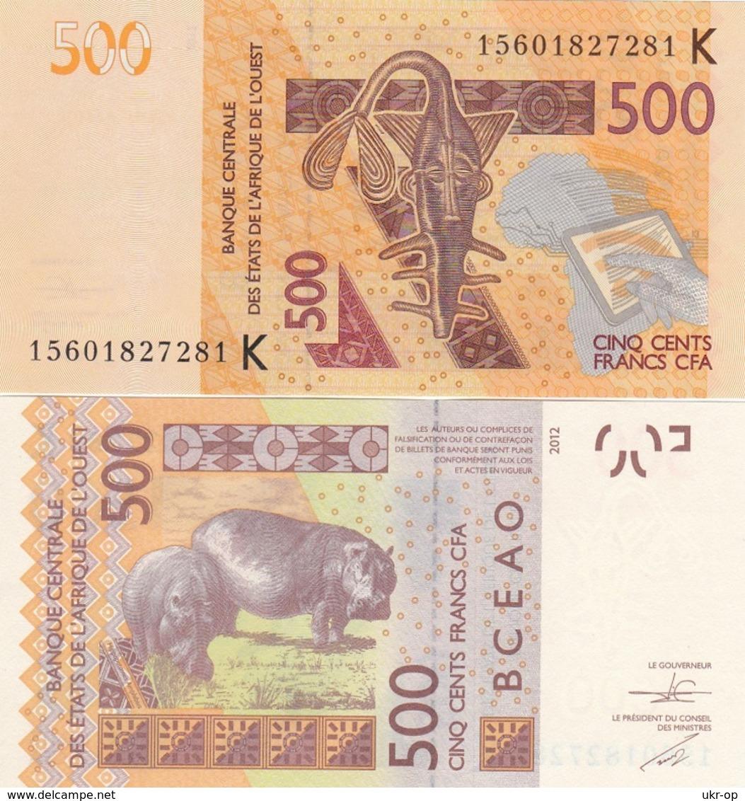 West African States - Senegal / K - 500 Francs 2015 UNC Ukr-OP - Sénégal