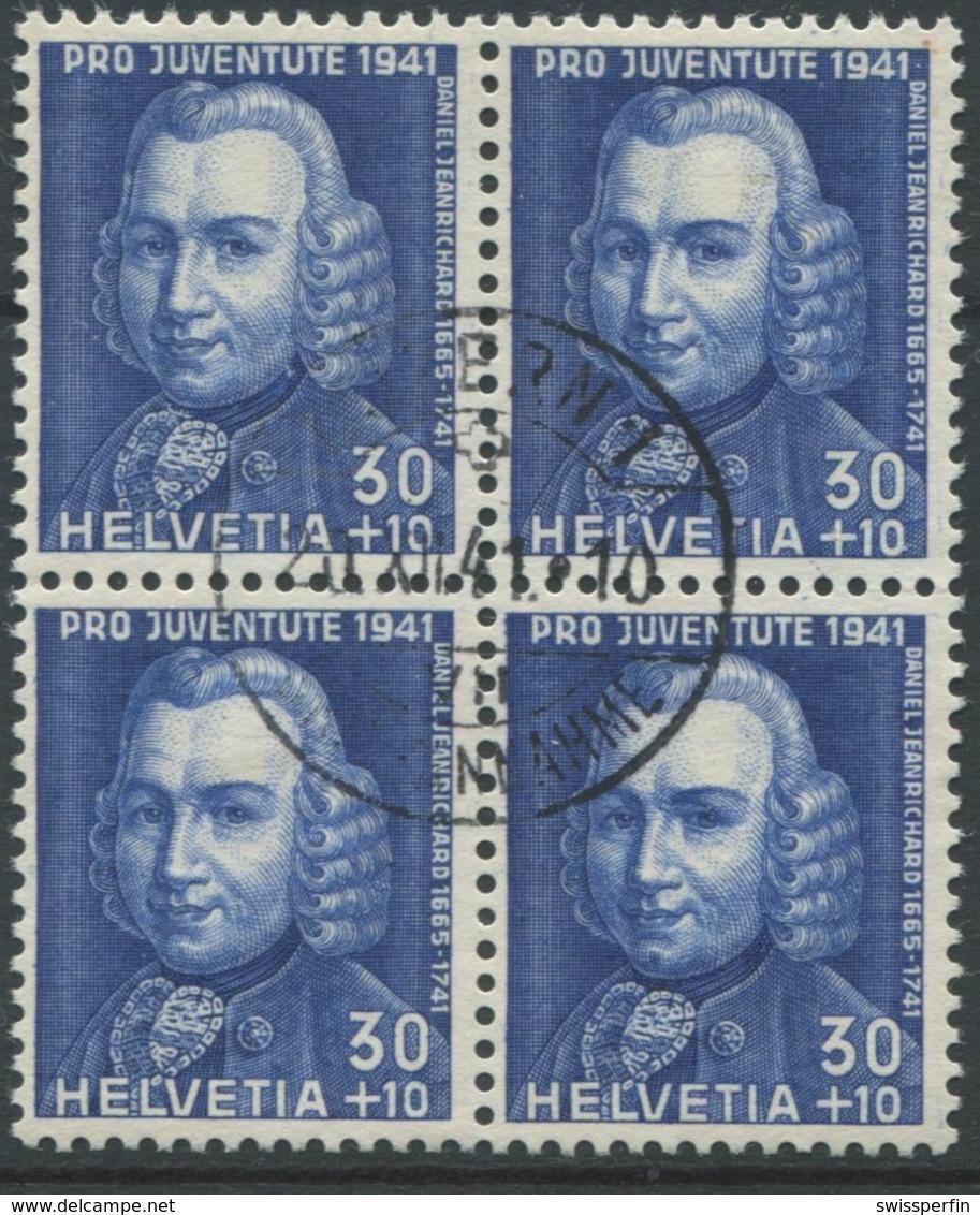 1807 - 30 Rp. Daniel Jearichard Mit Zentrumstempel LUZERN 20.XII.41 - Pro Juventute
