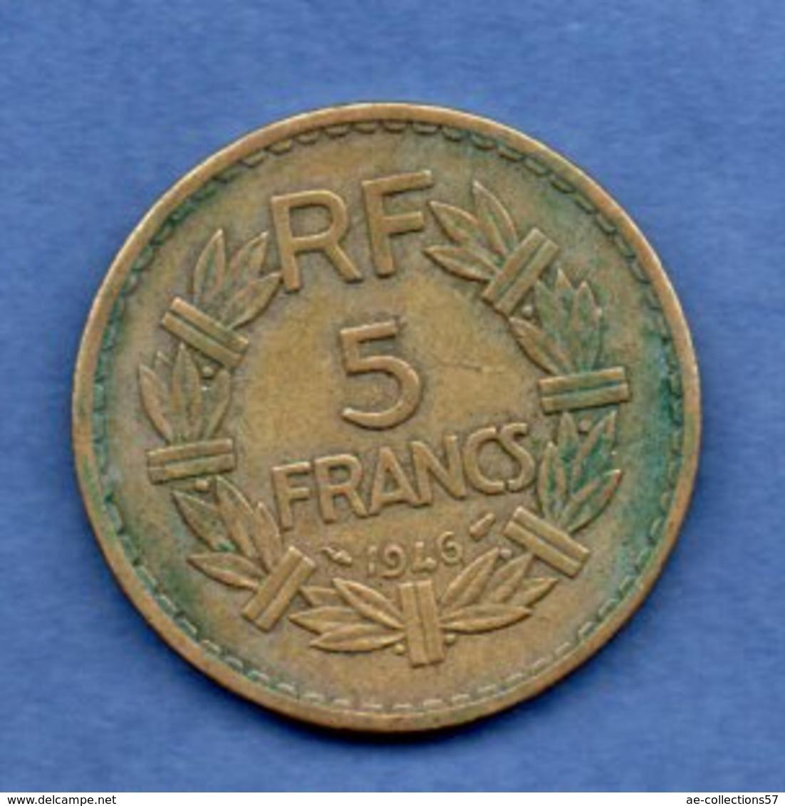 5 Francs 1946  -  état  TB+ - France