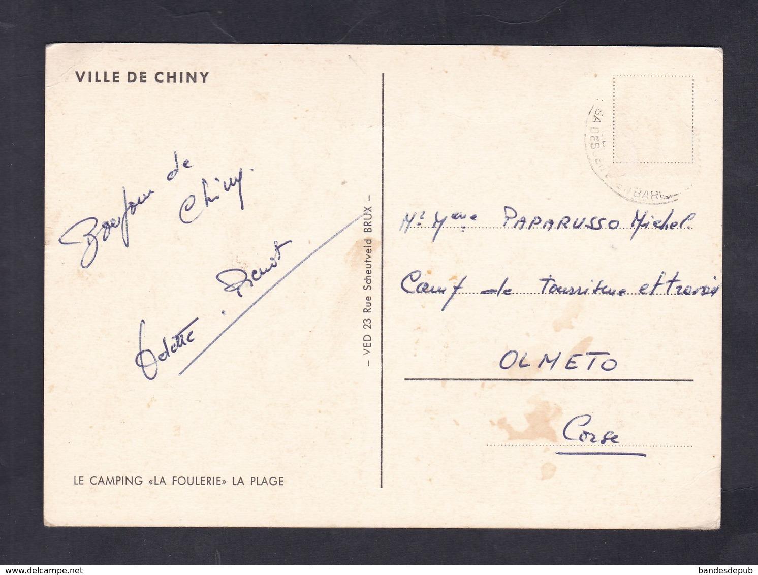 Souvenir De CHINY Groeten Uit - Le Camping La Foulerie La Plage Ed. VED - Chiny