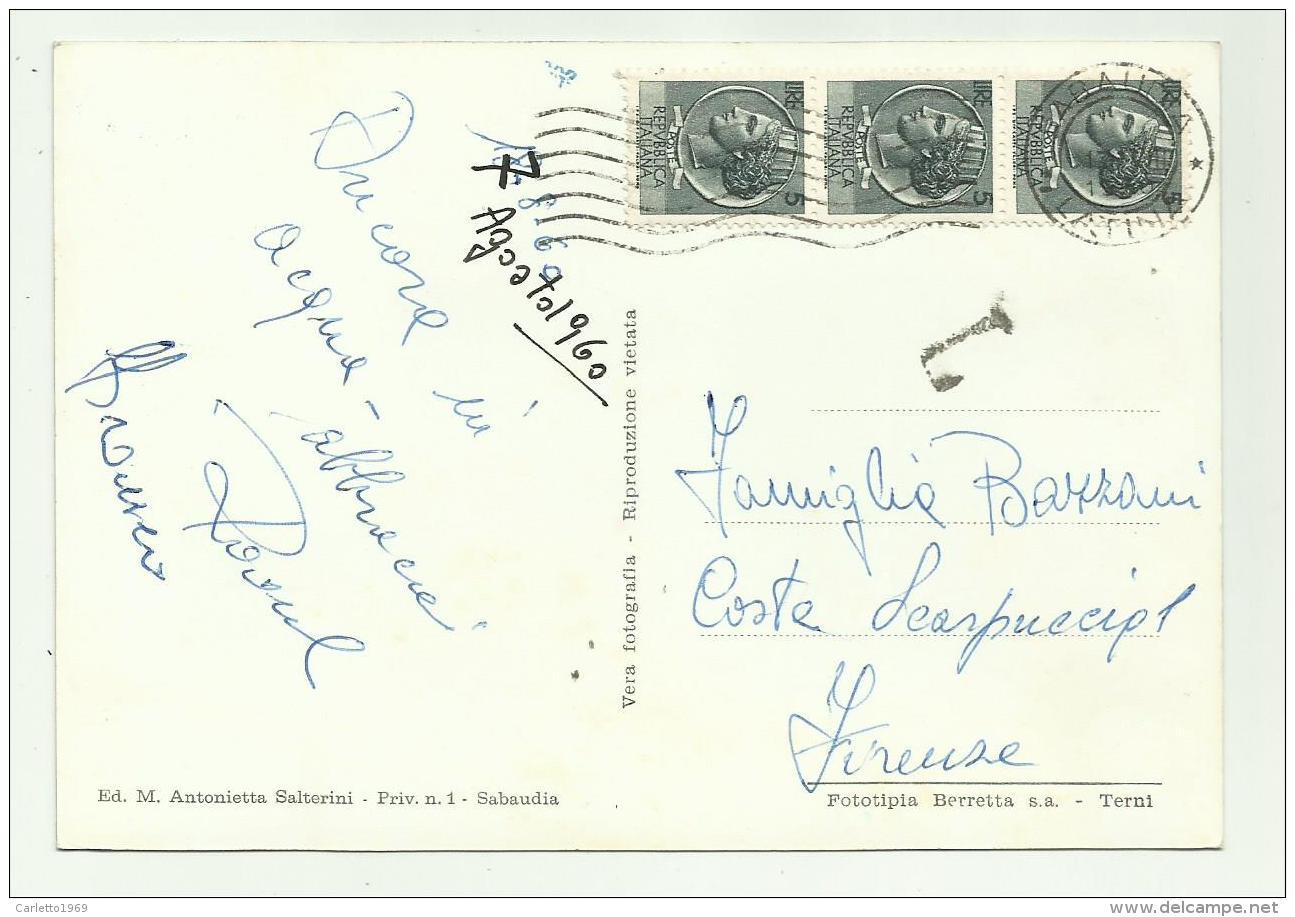 S.FELICE CIRCEO - TORRE CERVIA  VIAGGIATA FG - Latina