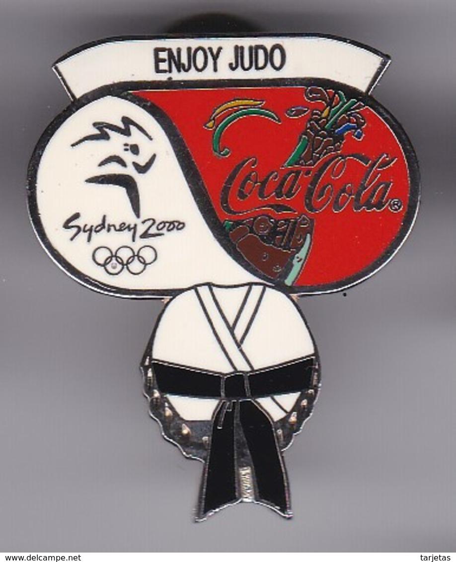PIN DE COCA-COLA DE LAS OLIMPIADAS DE SYDNEY 2000 - ENJOY JUDO (COKE) OLYMPIC GAMES - Coca-Cola