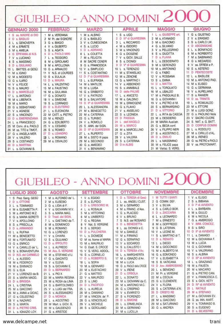 JUBILAEUM AD 2000 - Calendario 2000 - Calendari