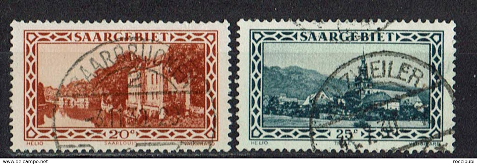 Saargebiet 1926/1927 // Mi. 110,111 O - Oblitérés