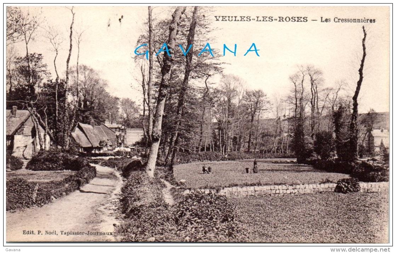 76 VEULES-les-ROSES - Les Cressonnières - Veules Les Roses