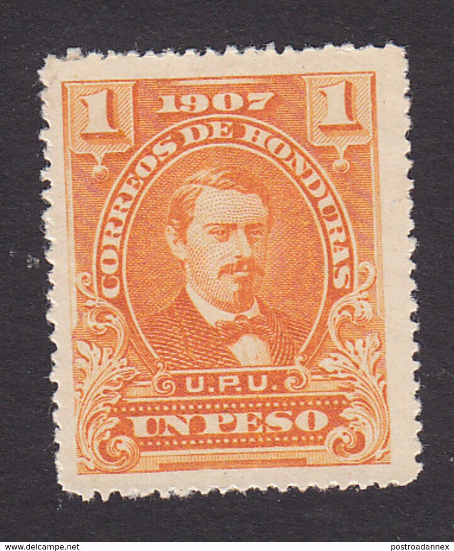 Honduras, Scott #126, Mint No Gum, Medina, Issued 1907 - Honduras