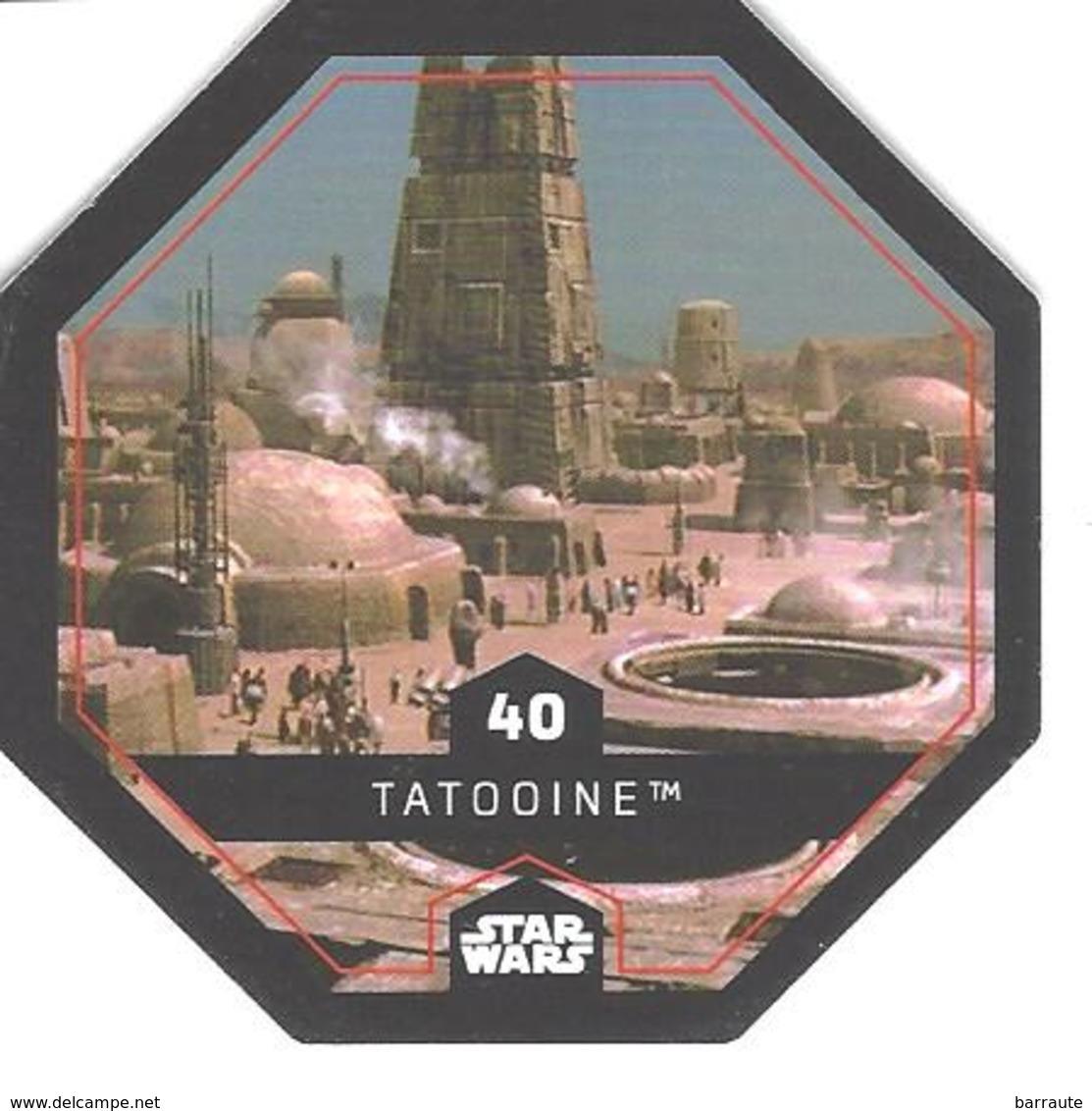 JETON LECLERC STAR WARS   N° 40 TATOOINE - Power Of The Force
