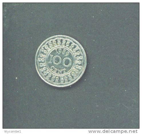 SURINAM - 1989 100 Cent Circ. - Surinam 1975 - ...