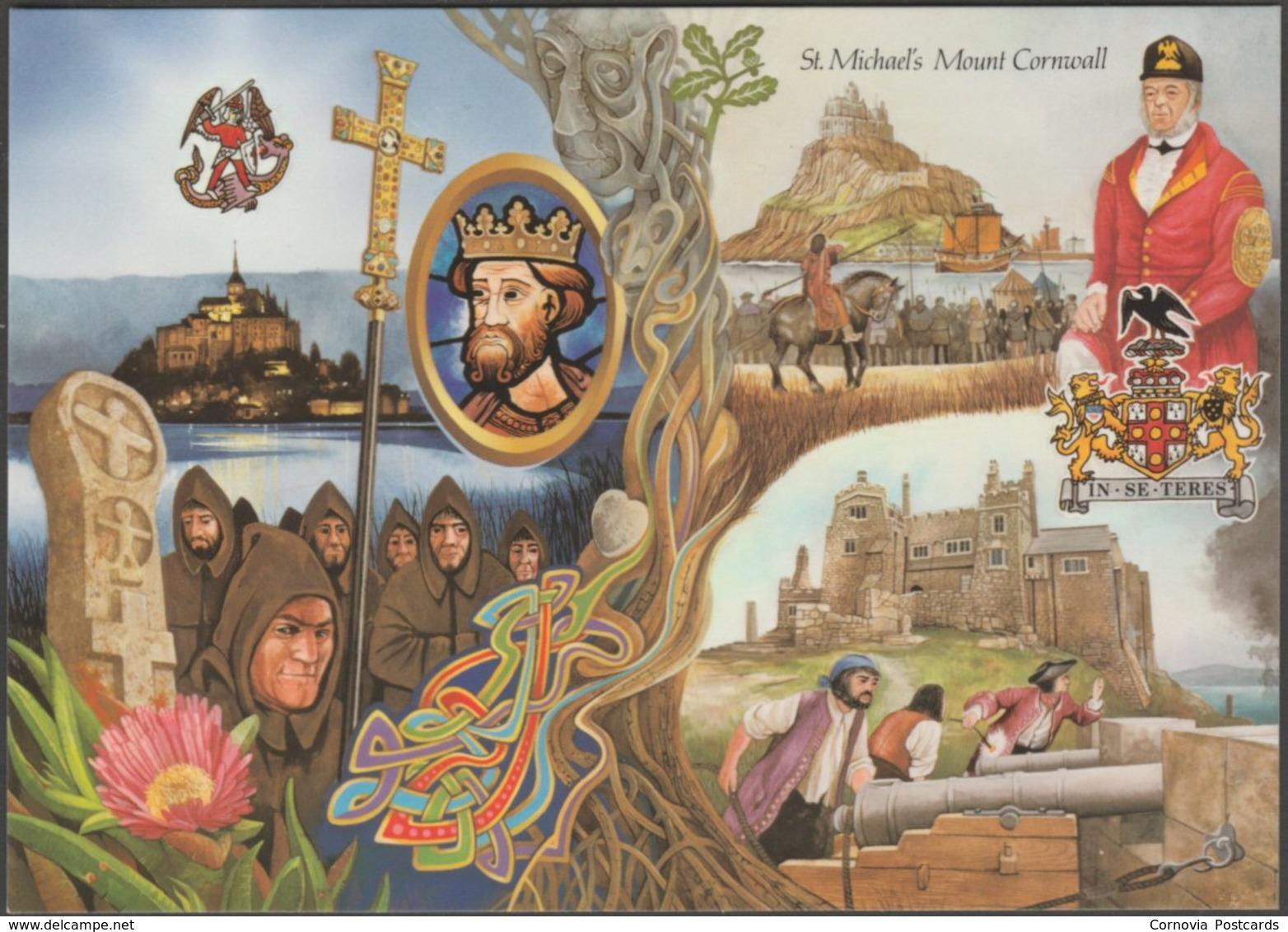 St Michael's Mount, Cornwall, C.1980s - Murray King Postcard - St Michael's Mount