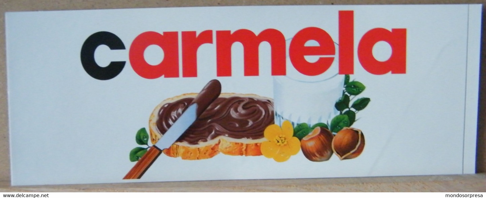 MONDOSORPRESA, ADESIVI NUTELLA NOMI, CARMELA - Nutella