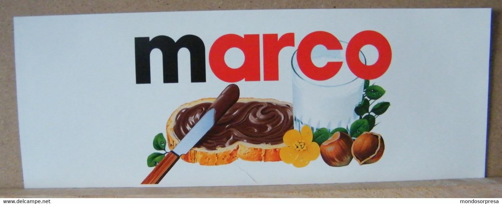 MONDOSORPRESA, ADESIVI NUTELLA NOMI, MARCO - Nutella