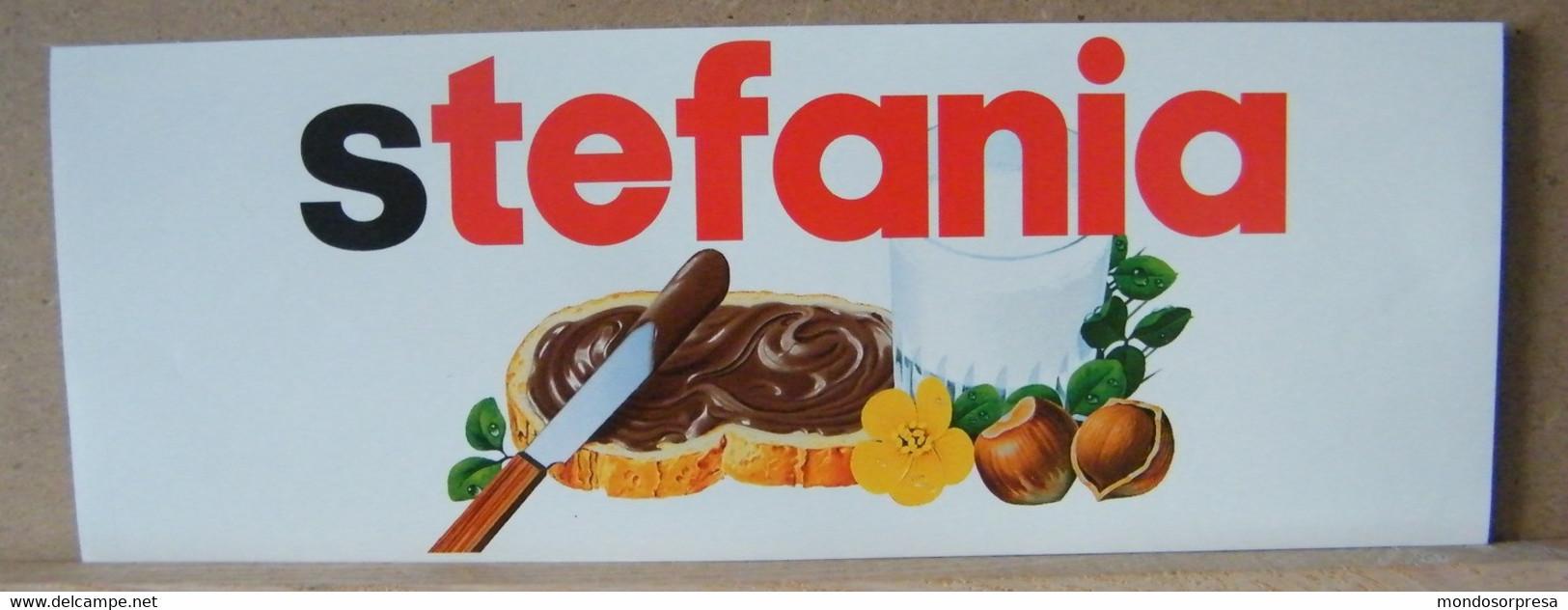 MONDOSORPRESA, ADESIVI NUTELLA NOMI, STEFANIA - Nutella