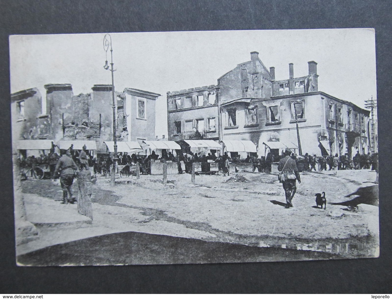 Ak TARNOPOL Stary Rynek 1917  //  D*31737 - Ukraine