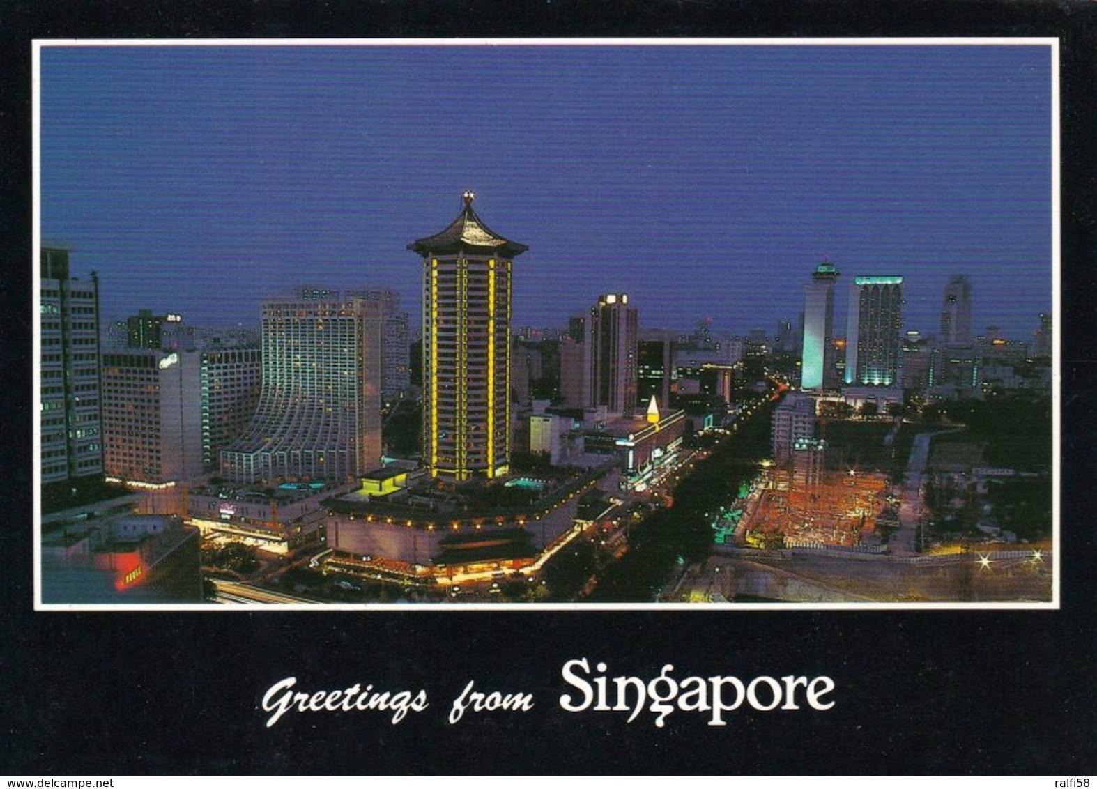 1 AK Singapur * Greetings From Singapore * - Singapour