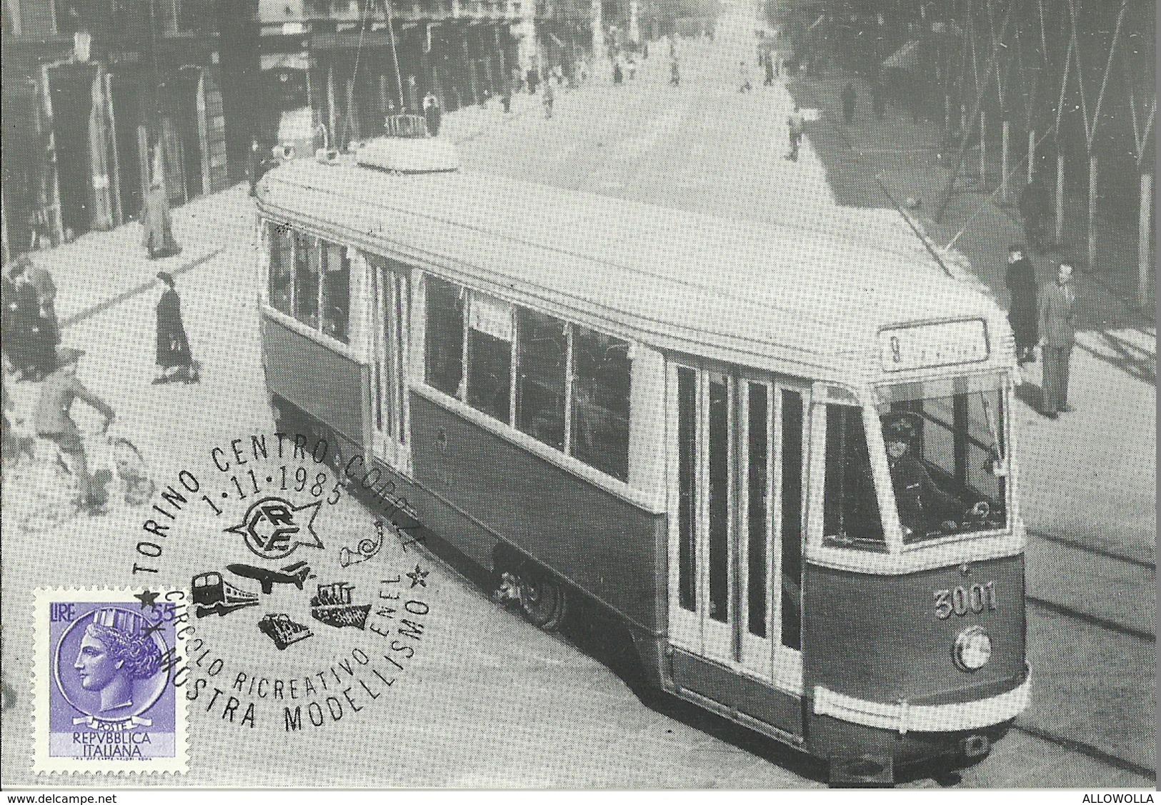 "673 ""MOTRICE TRAMVIARIA SERIE 3000 - 1941-1945"" CART. ORIGINALE NON SPED. - Cartoline"