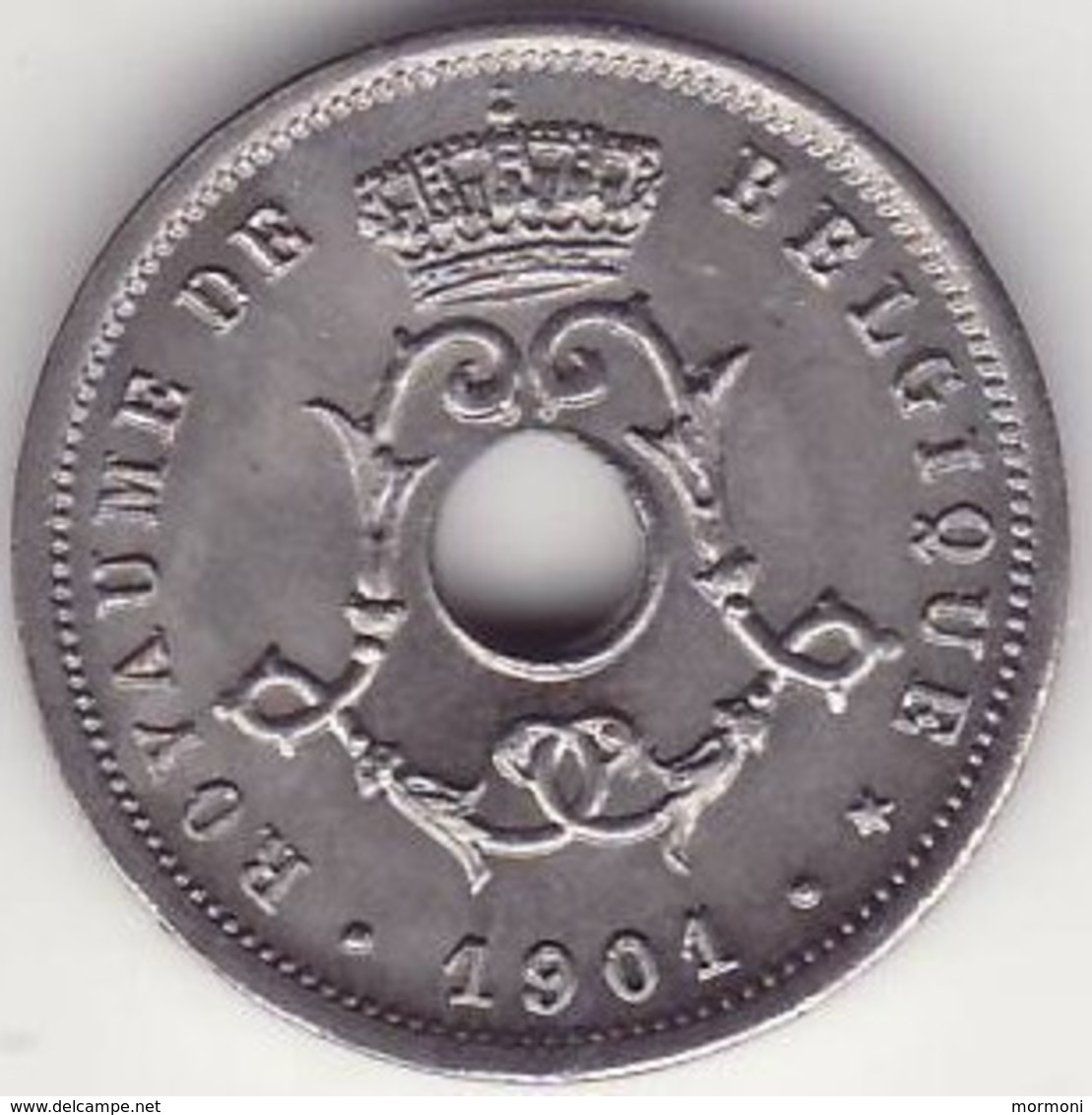 Belgique - 5 Cent 1901 - Léopold II - FDC - **** - Unc. - 03. 5 Centimes