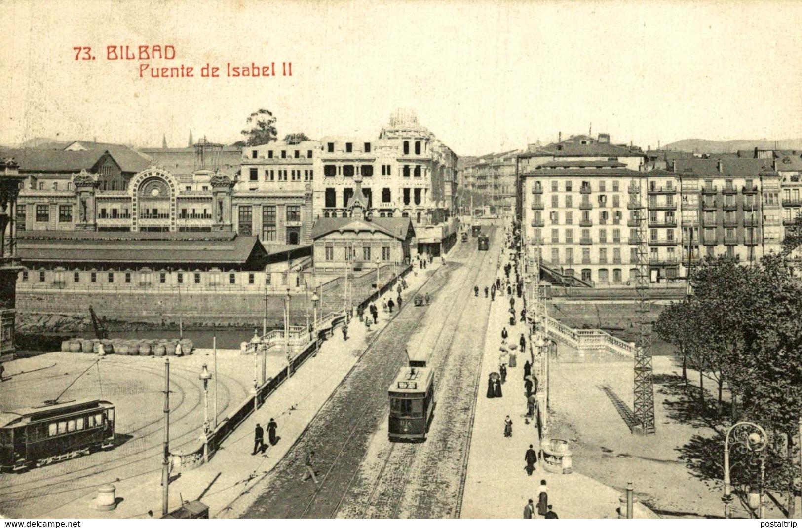 BILBAO PUENTE DE ISABEL II - Vizcaya (Bilbao)