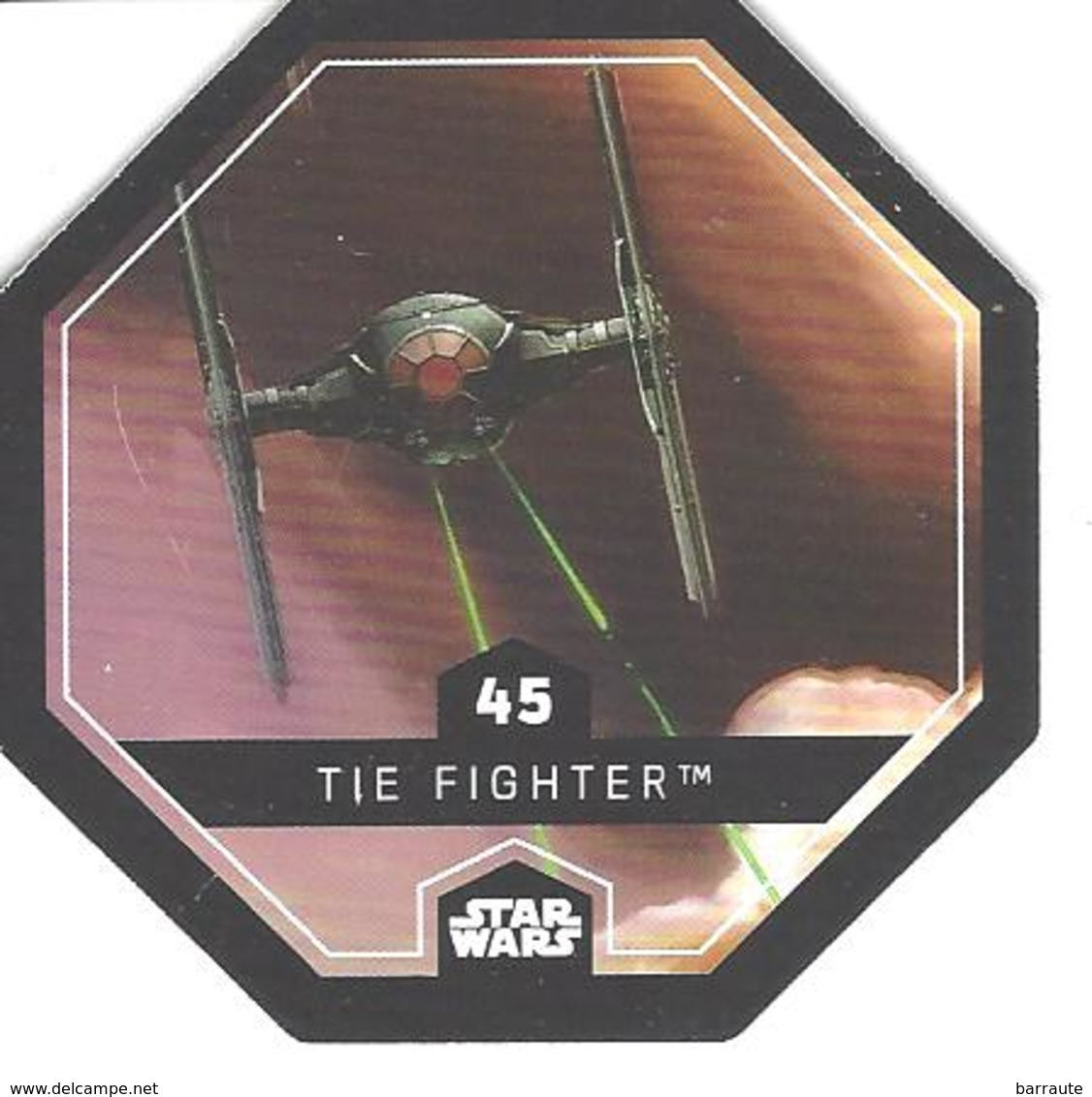 JETON LECLERC STAR WARS   N° 45 THE FLIGHTER - Power Of The Force