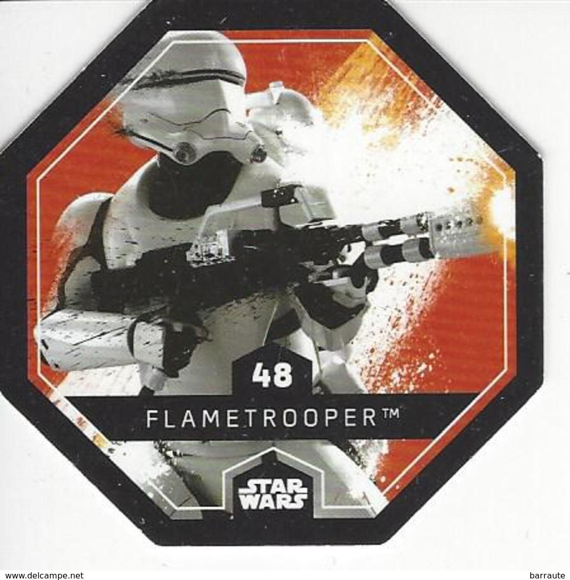 JETON LECLERC STAR WARS   N° 48 FLAMETROOPER - Power Of The Force