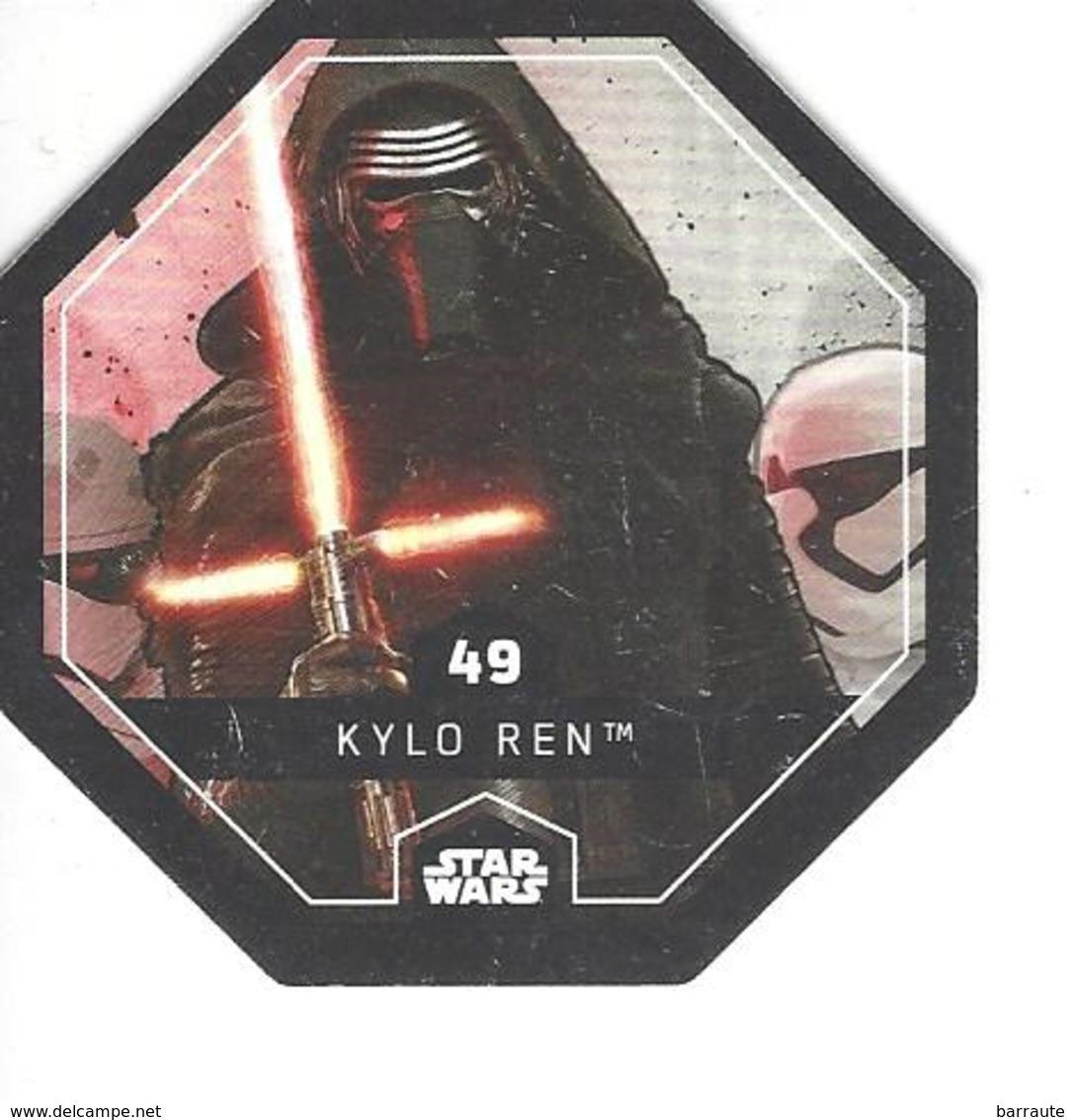 JETON LECLERC STAR WARS   N° 49 KYLO REN - Power Of The Force