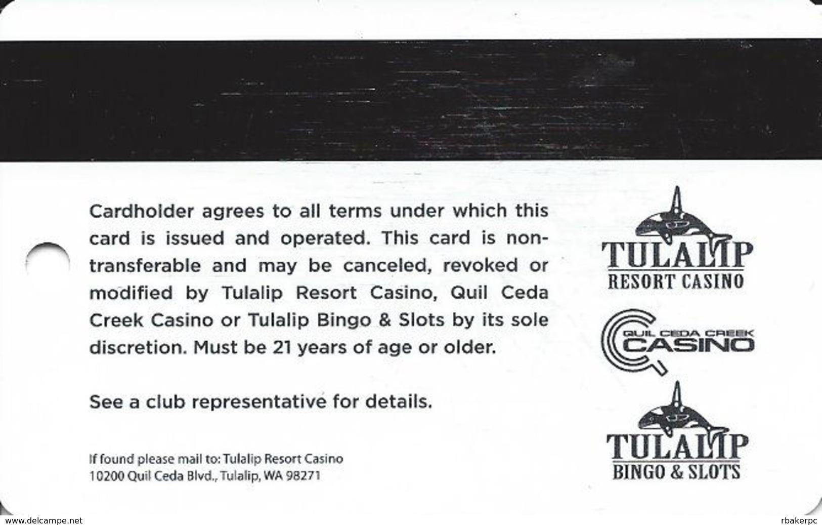 Tulalip Casino - Marysville WA - Latest Slot Card - Casino Cards