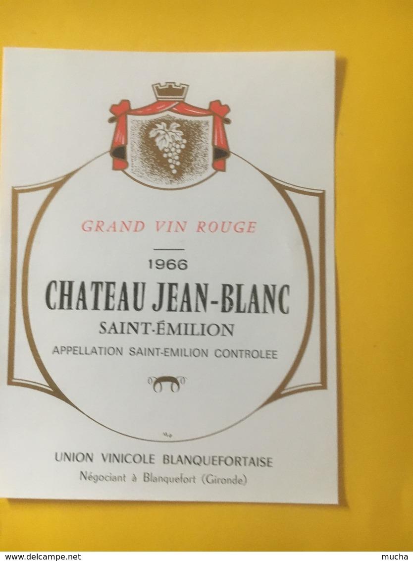 8210 - Château Jean-Blanc 1966 Saint-Emilion - Bordeaux