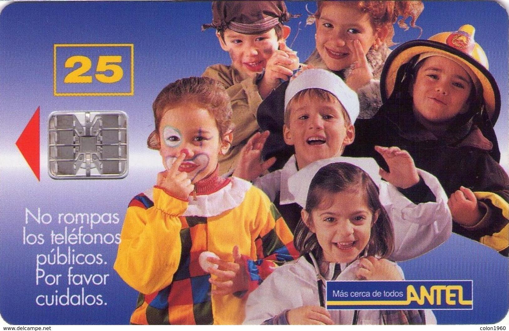 TARJETA TELEFONICA DE URUGUAY, 20a (138) - Uruguay