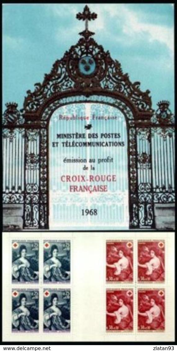 SUPERBE CARNET CROIX ROUGE De 1968 NEUF Avec GOMME** Cote +++ - Croix Rouge