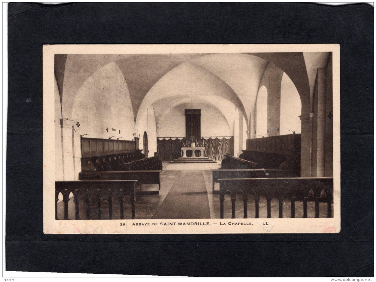 77380     Francia,   Abbaye De Saint-Wandrille,  La Chapelle,  NV - Saint-Wandrille-Rançon