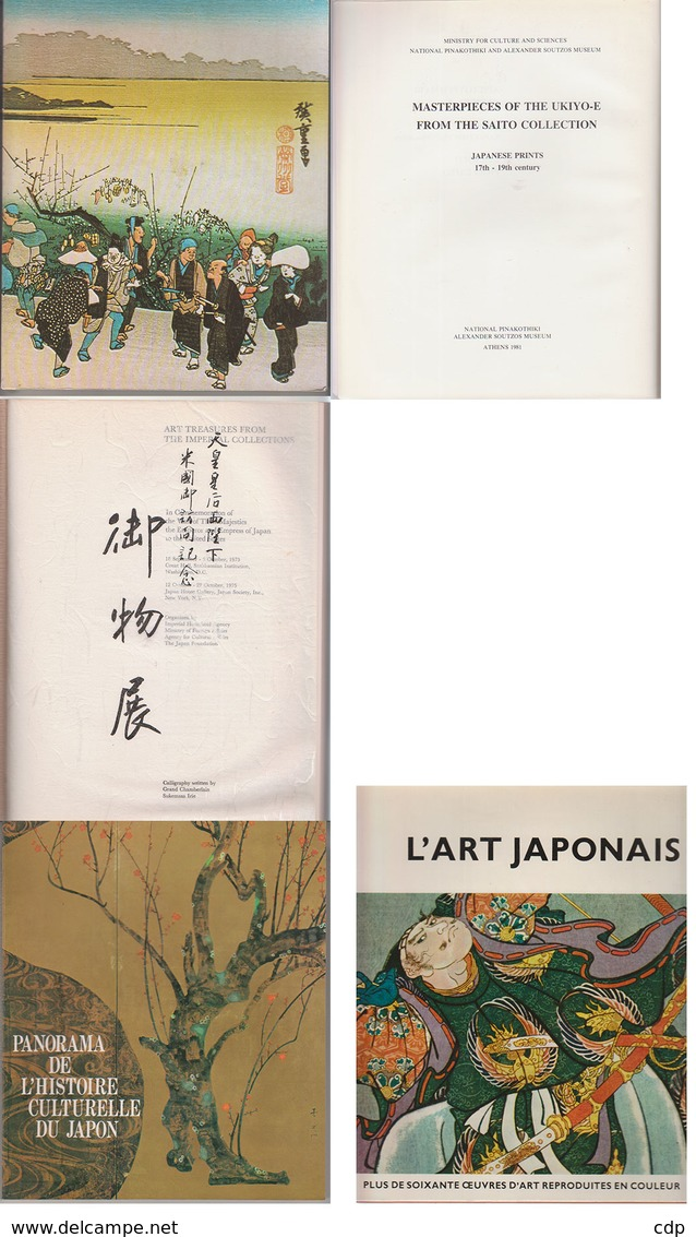 Lot 4 Livres JAPON - Bücher, Zeitschriften, Comics