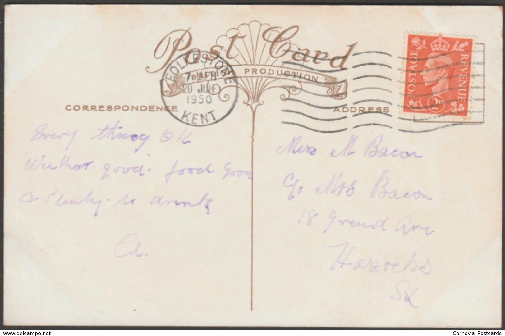 Multiview, Dover, Kent, 1950 - Postcard - Dover