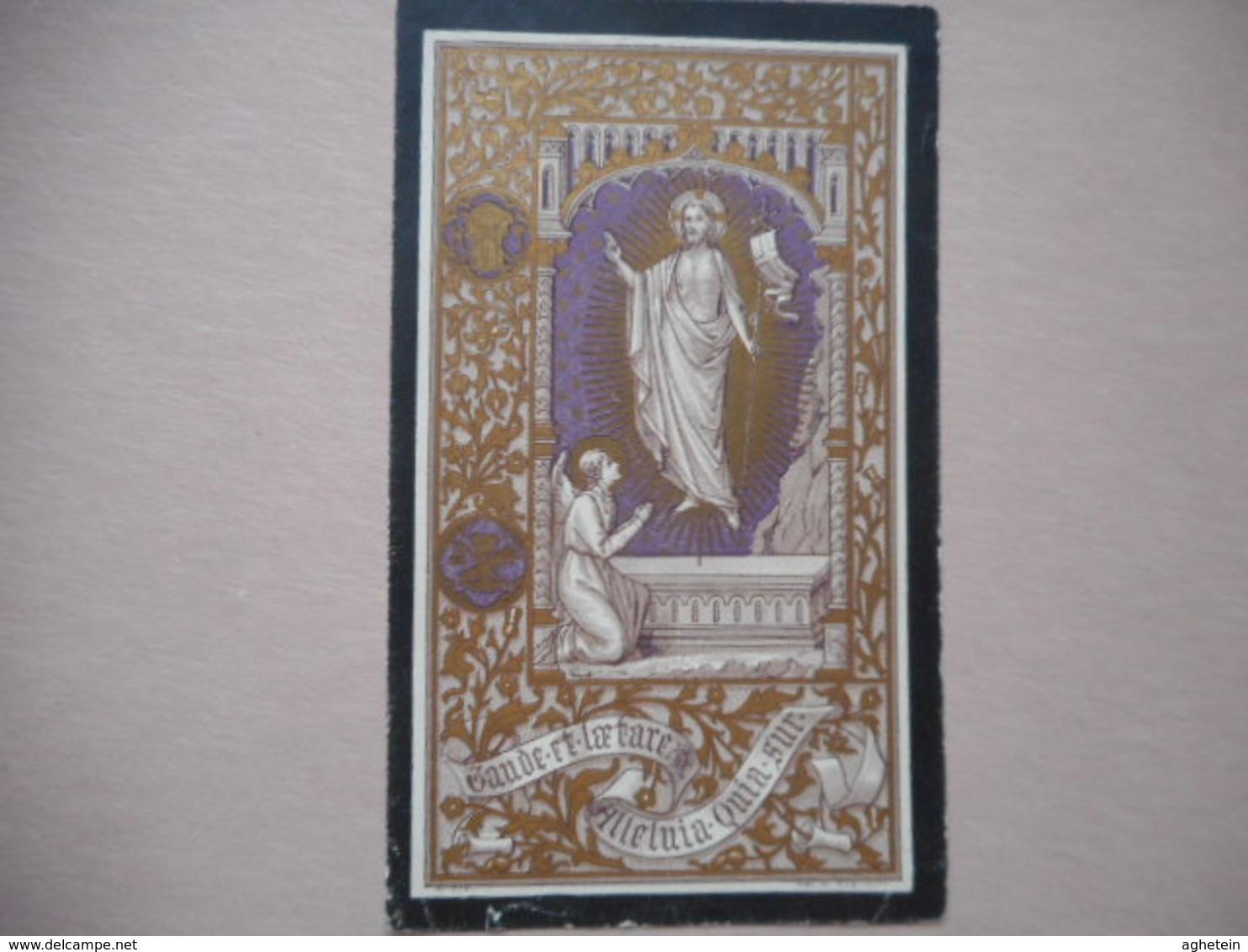 D.P.-RENE-J.H.SIERENS 0THIELT 11-3-1887+ALDAAR 20-9-1902 - Religion & Esotérisme